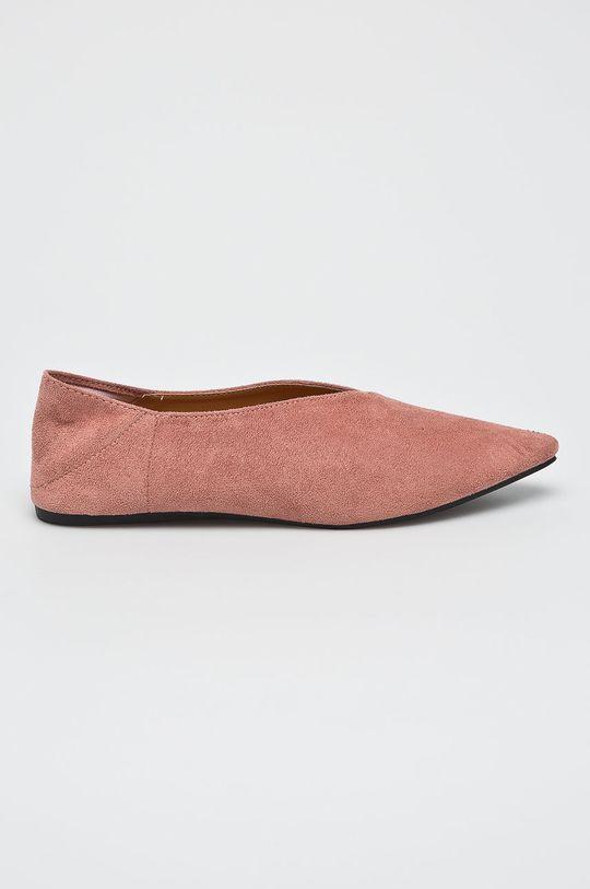 ružová Answear - Poltopánky Fersini Dámsky
