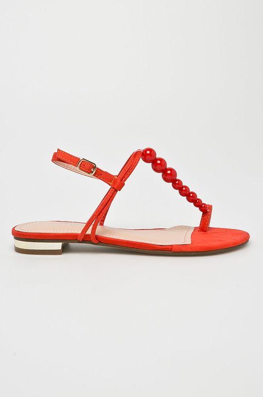 oranžová Answear - Sandále Ideal Shoes Dámsky