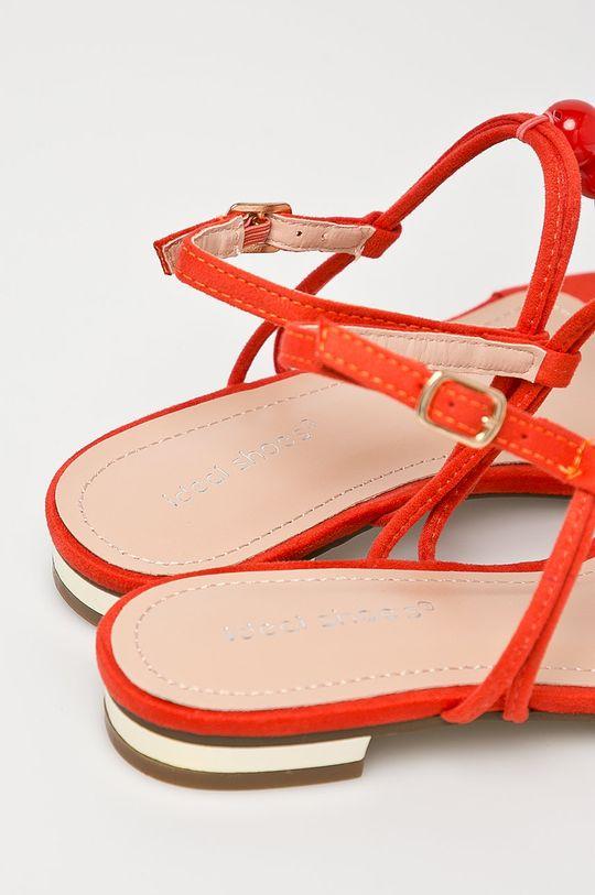 oranžová Answear - Sandále Ideal Shoes