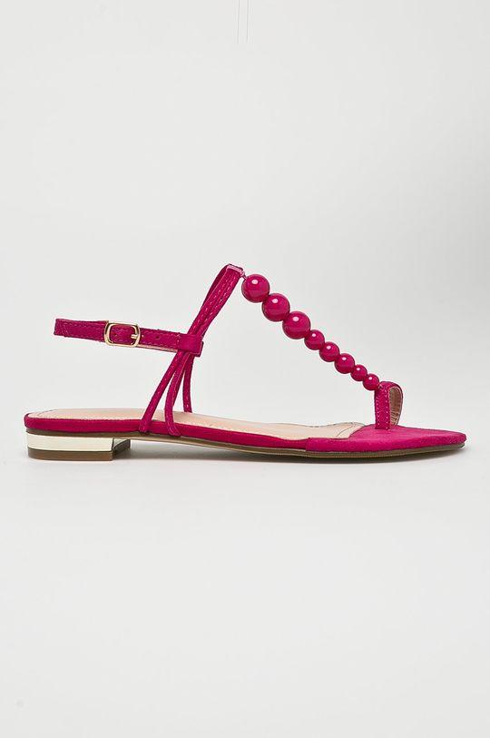 fuksia Answear - Sandále Ideal Shoes Dámsky