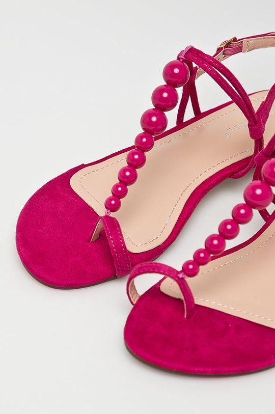 Answear - Sandále Ideal Shoes fuksia