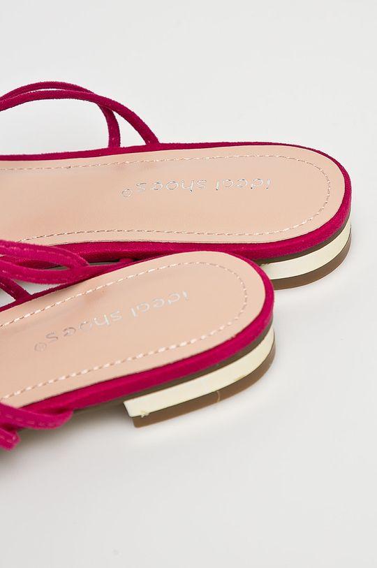 fuksia Answear - Sandále Ideal Shoes