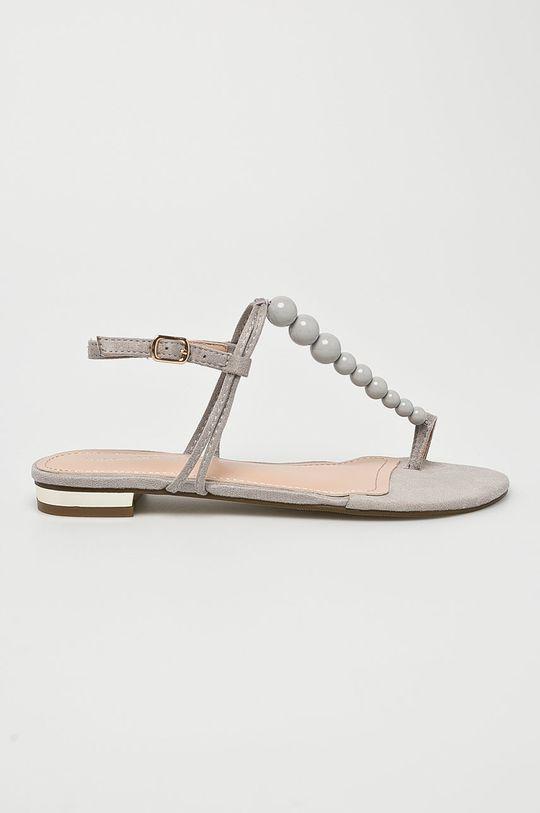 sivá Answear - Sandále Ideal Shoes Dámsky