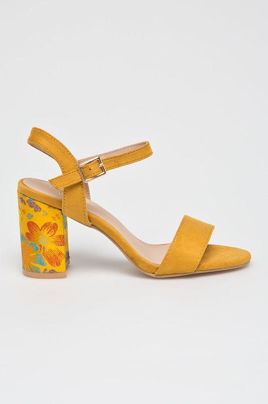 žltá Answear - Sandále Super Women Dámsky