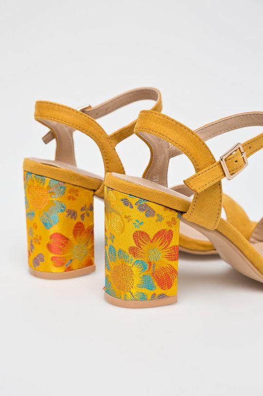 Answear - Sandále Super Women žltá