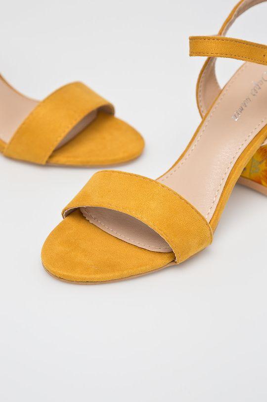 žltá Answear - Sandále Super Women