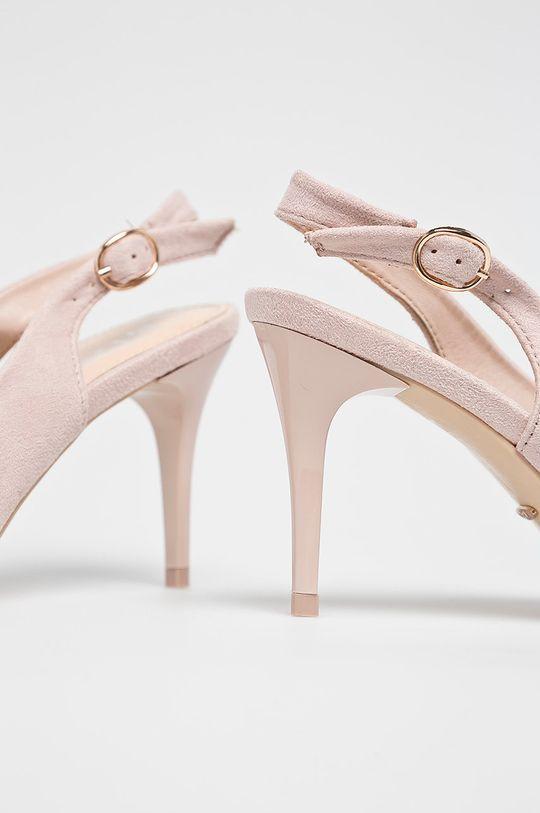 pastelová ružová Answear - Lodičky