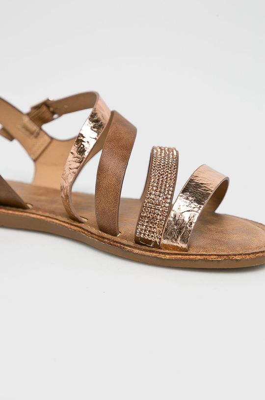 Answear - Sandále Lisa hnedá