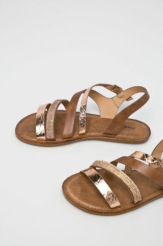 Answear - Sandále Lisa <p>Zvršok: Syntetická látka Vnútro: Syntetická látka, Textil Podrážka: Syntetická látka</p>