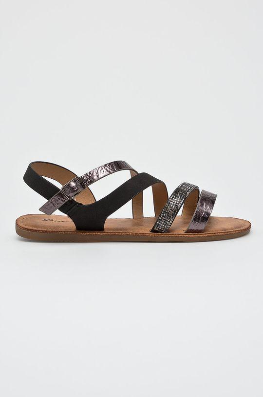čierna Answear - Sandále Lisa Dámsky