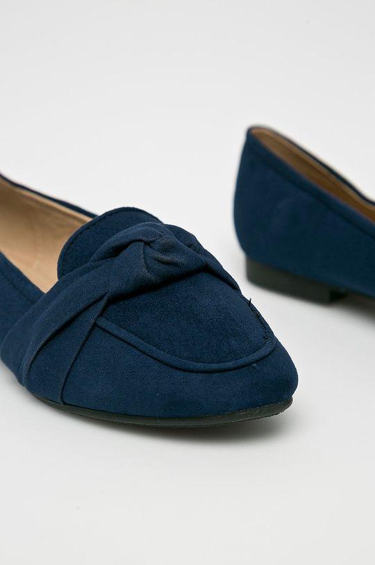 tmavomodrá Answear - Baleríny Lily Shoes