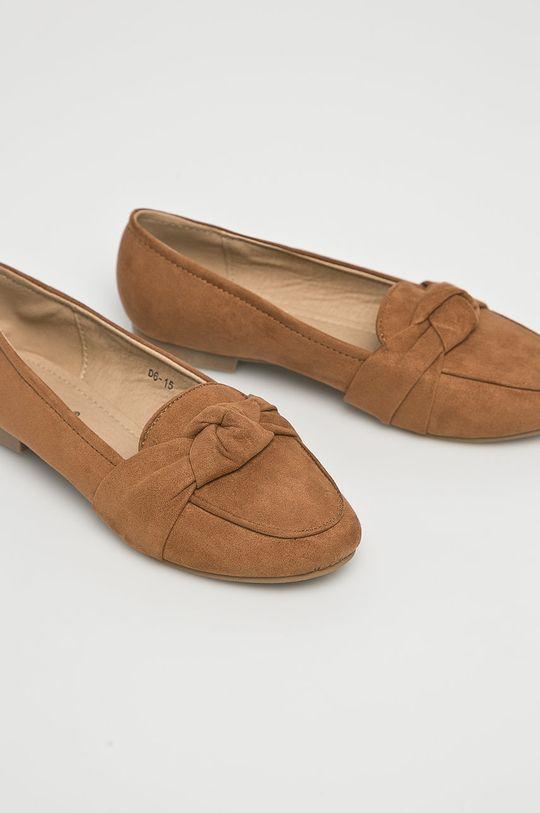 Answear - Baleríny Lily Shoes zlatohnedá
