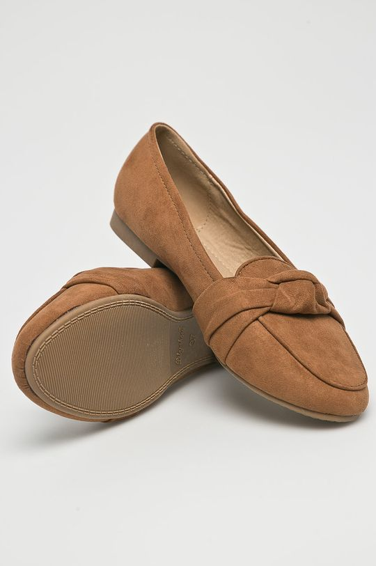 zlatohnedá Answear - Baleríny Lily Shoes