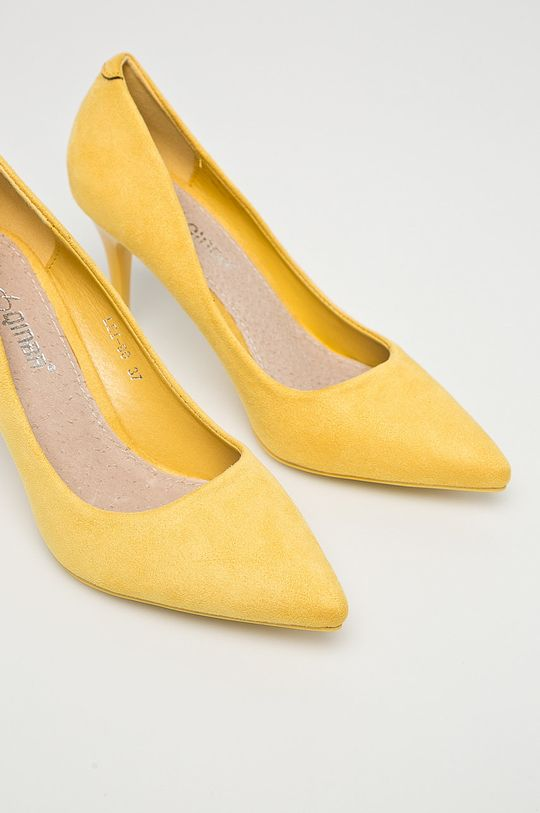 Answear - Lodičky Qinba žltá