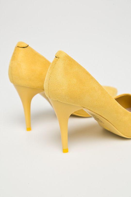 žltá Answear - Lodičky Qinba