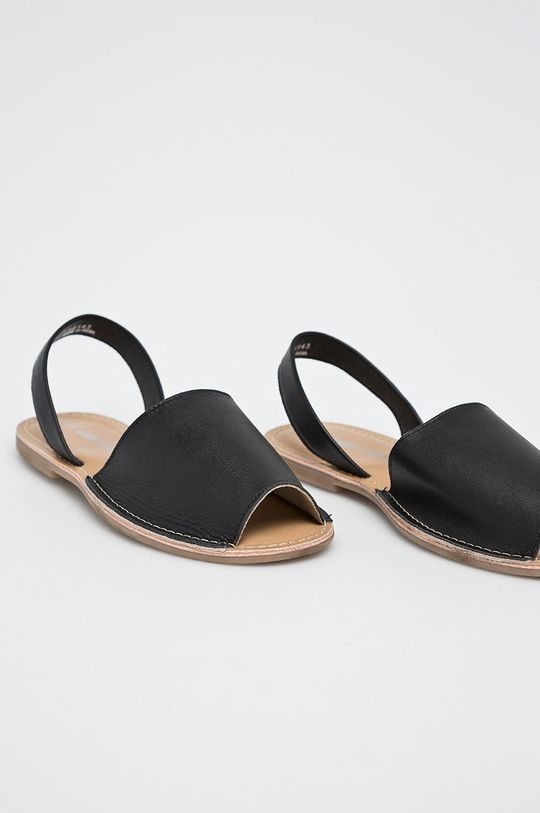 Answear - Sandále Leather Collection čierna