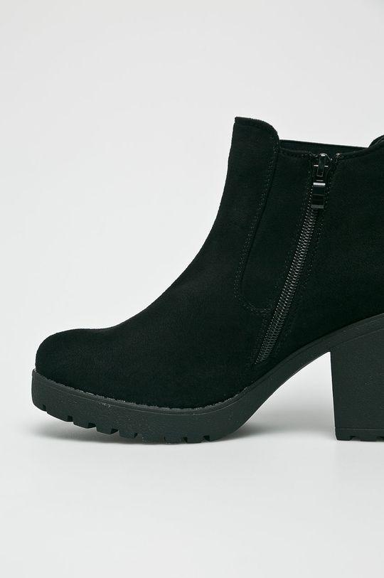 čierna Answear - Čižmy Glossy