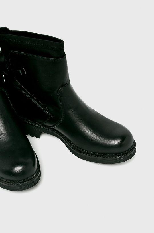 čierna Answear - Čižmy Janessa