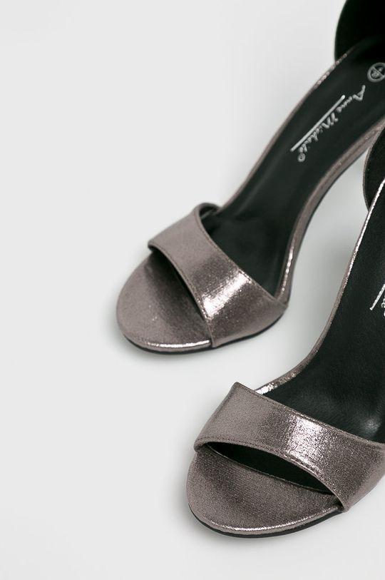 argintiu Answear - Sandale