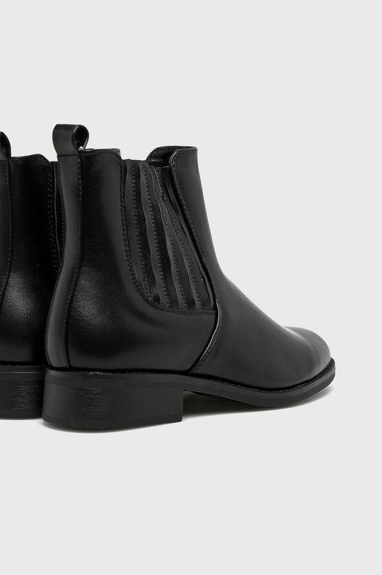 čierna Answear - Čižmy Seastar