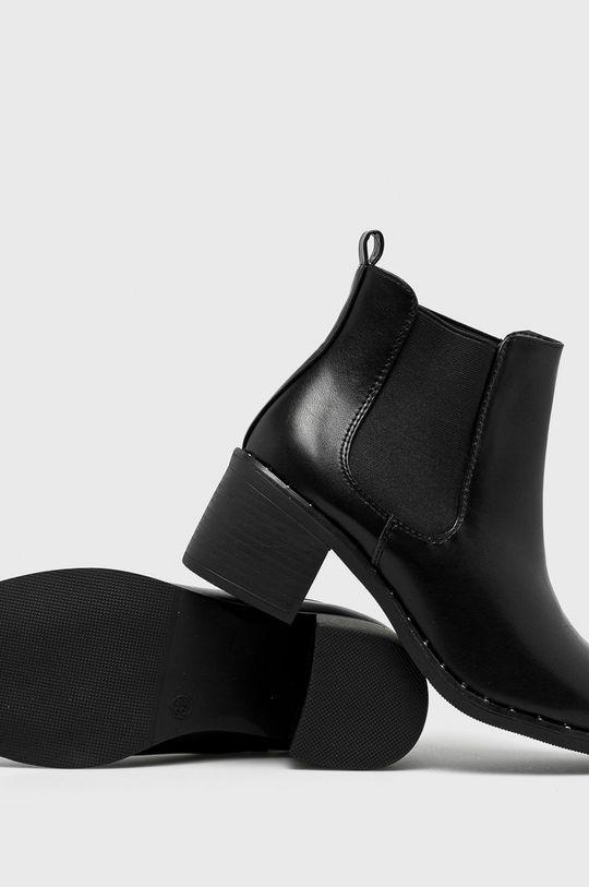 čierna Answear - Členkové čižmy Seastar