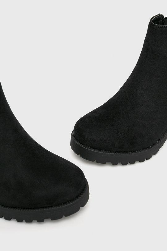 čierna Answear - Čižmy Sixth Sens