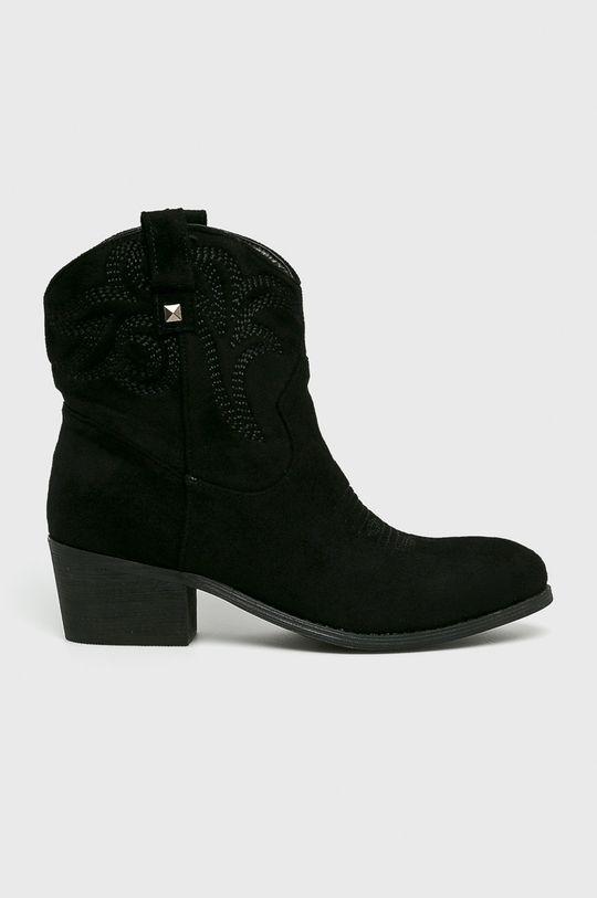 čierna Answear - Čižmy Moow Dámsky
