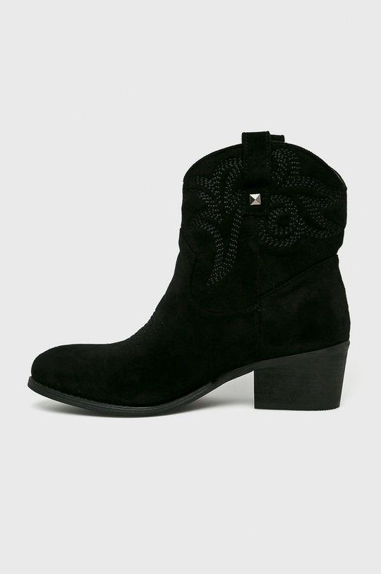 čierna Answear - Čižmy Moow