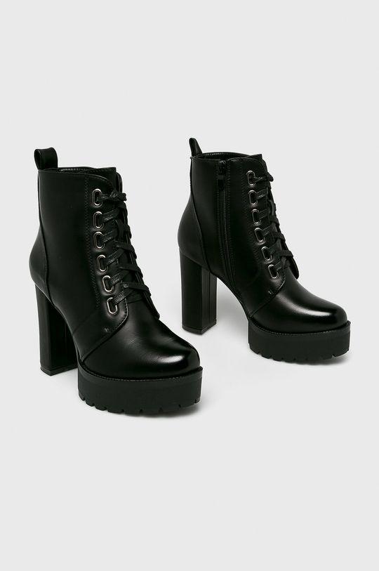Answear - Čižmy Super Mode čierna