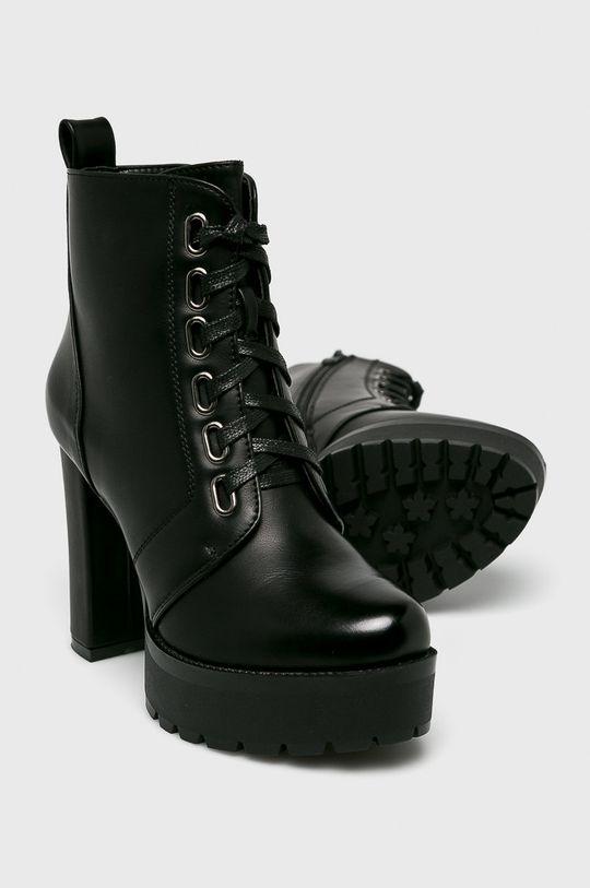 čierna Answear - Čižmy Super Mode