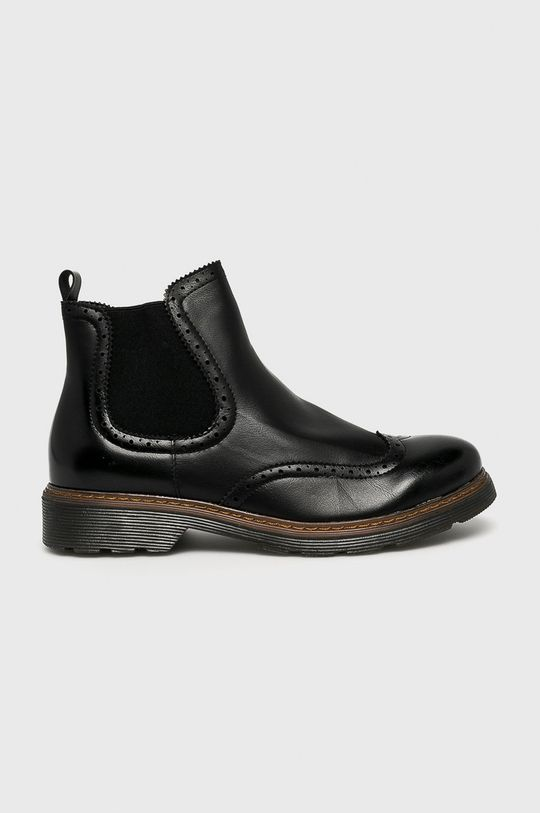 čierna Answear - Členkové čižmy Sds Dámsky