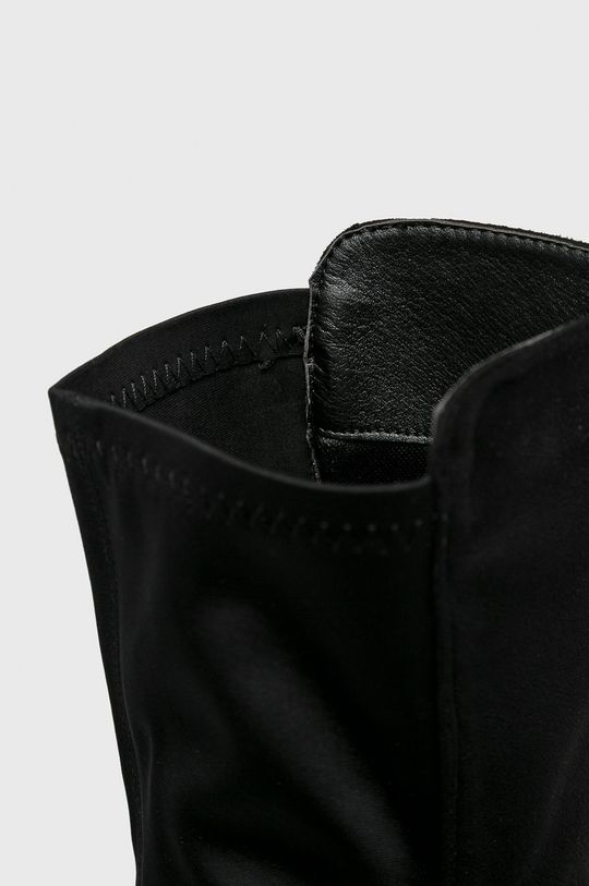čierna Answear - Vysoké čižmy Gogo