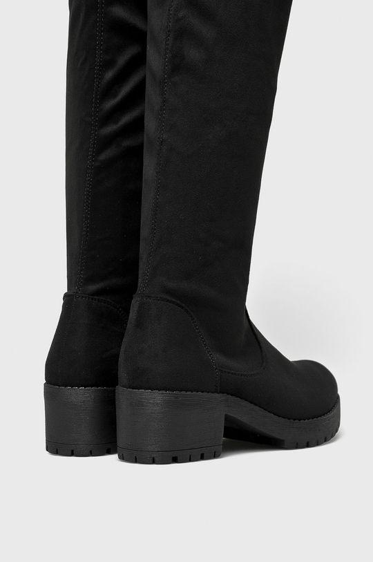 Answear - Vysoké čižmy Ideal Shoes čierna