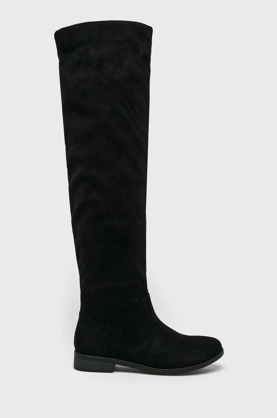 čierna Answear - Vysoké čižmy Fiorespine Dámsky