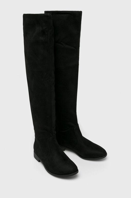 Answear - Vysoké čižmy Fiorespine čierna