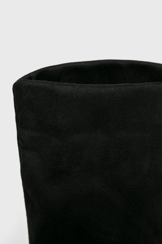 čierna Answear - Vysoké čižmy Fiorespine