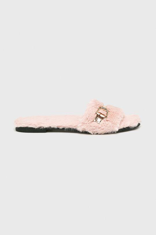 ružová Answear - Šľapky Dámsky