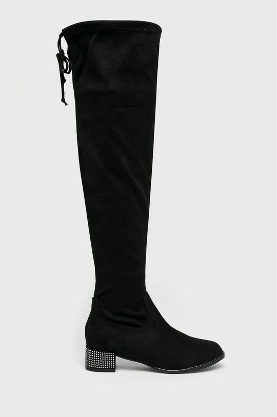 čierna Answear - Vysoké čižmy Seastar Dámsky