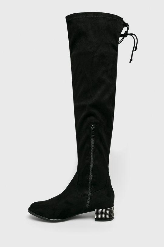 Answear - Vysoké čižmy Seastar čierna