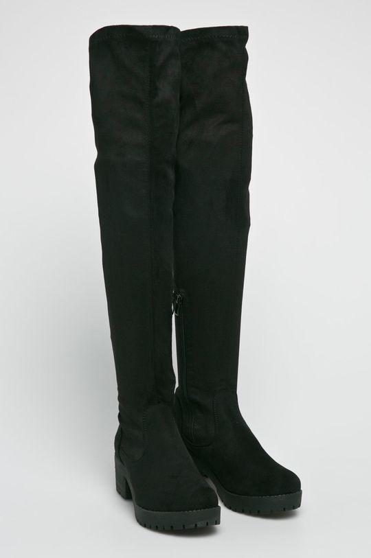 Answear Lab - Kozaki Ideal Shoes czarny