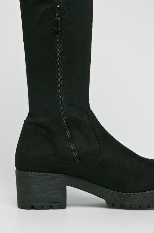 czarny Answear Lab - Kozaki Ideal Shoes