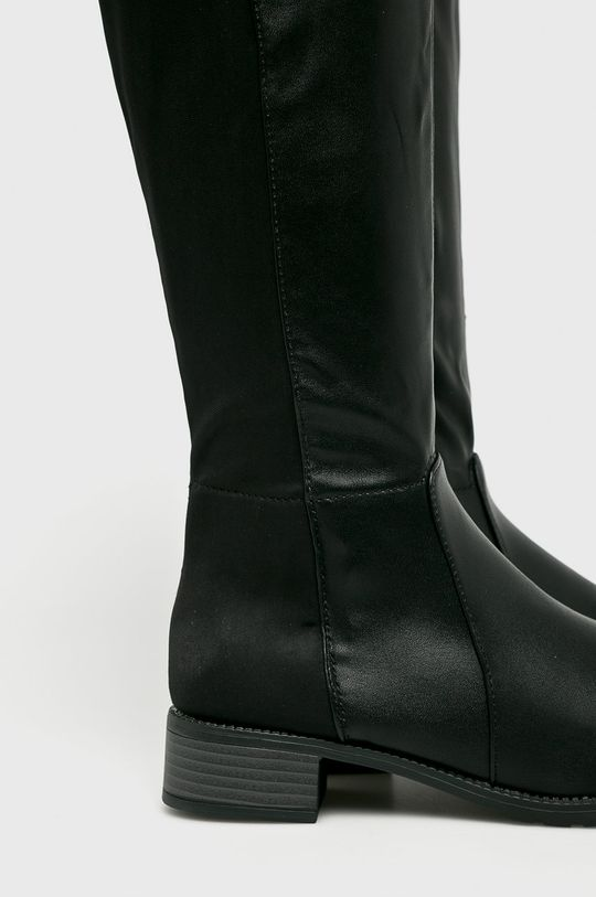 čierna Answear - Vysoké čižmy