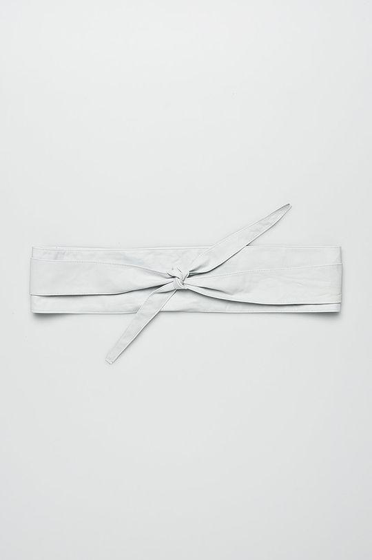 biela Answear - Kožený opasok Dámsky