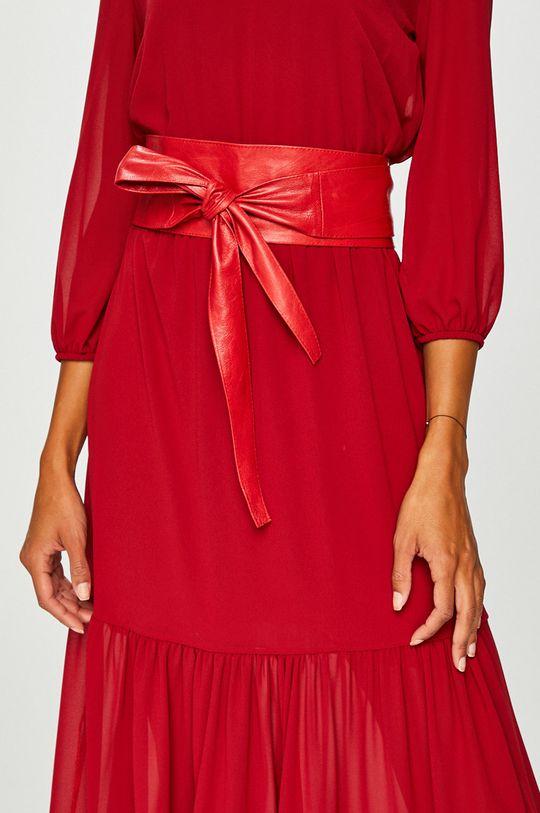 červená Answear - Kožený opasok Dámsky