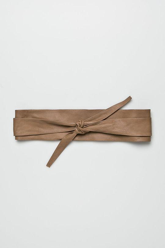 béžová Answear - Kožený opasok Dámsky