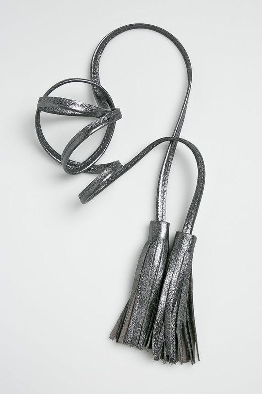 Answear - Kožený opasok strieborná