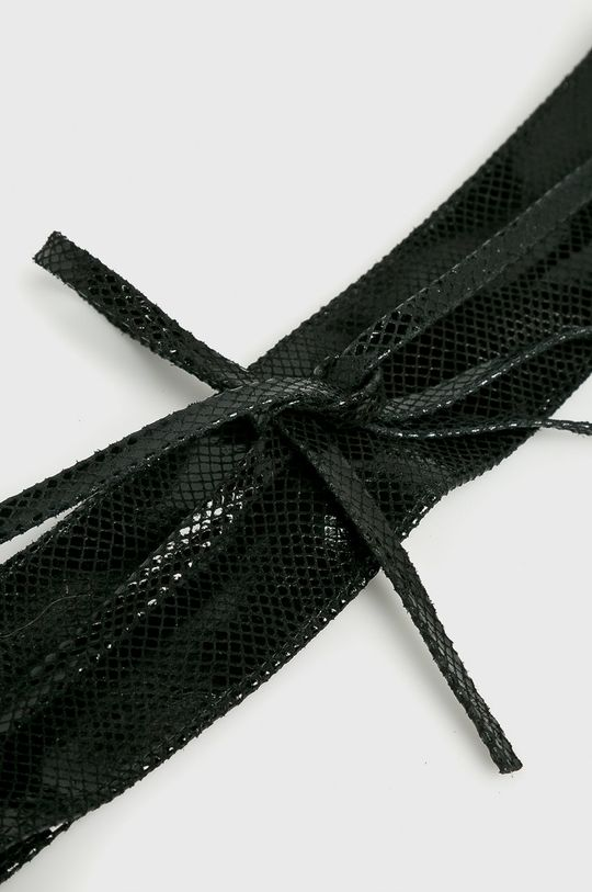 Answear Lab - Pasek skórzany czarny