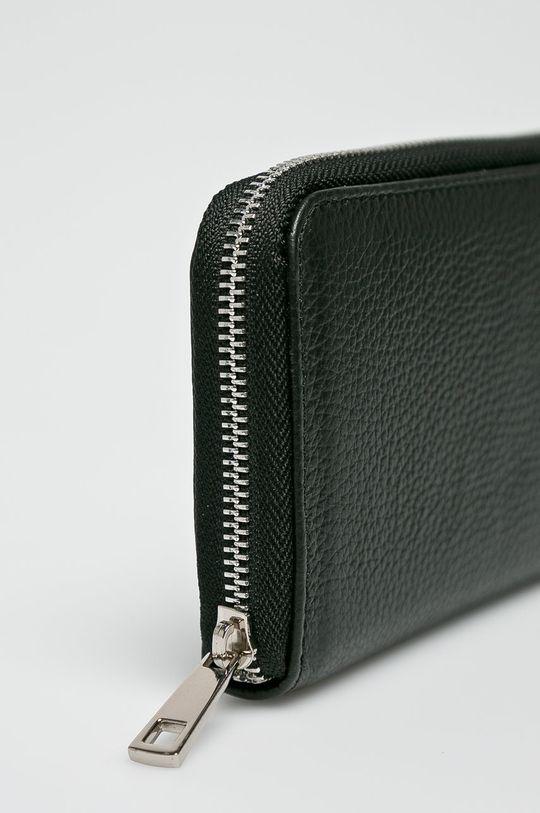 Answear - Kožená peňaženka čierna
