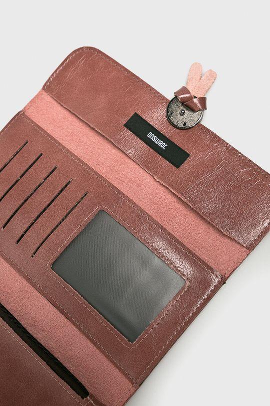 staroružová Answear - Peňaženka