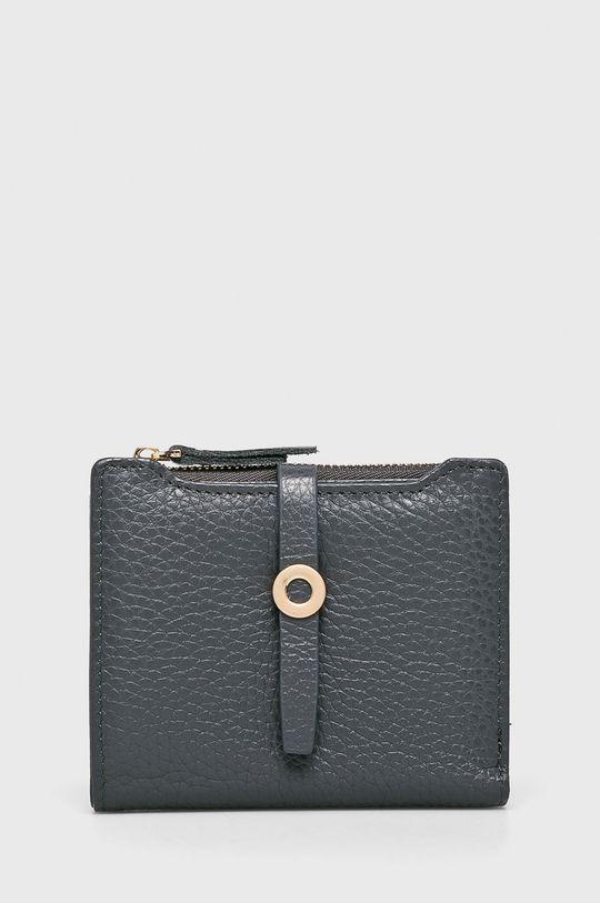 sivá Answear - Kožená peňaženka Dámsky